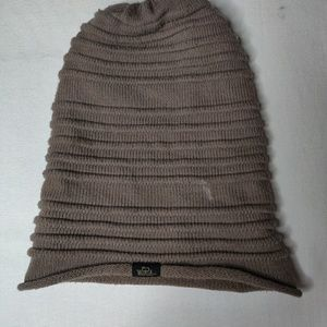 Woolrich acrylic beanie baggy hat